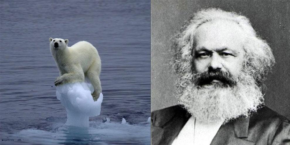 VISS LIKHET?: Frp mener global oppvarming er den nye Karl Marx. Foto: Arne Nævra/NTB scanpix/artist in doing nothing/Flickr