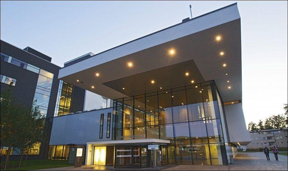 STENGTE: Akershus universitetssykehus på Lørenskog i Akershus måtte stenge på grunn av at kapasiteten ble sprengt onsdag. Foto: Jan Petter Lynau