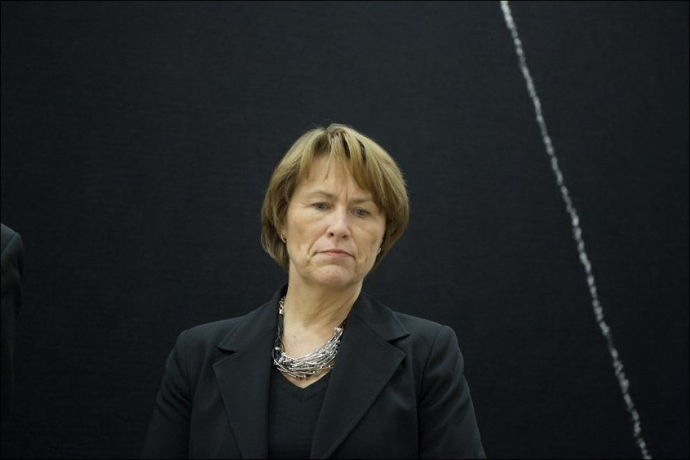 NY LOV: Statsråd Grete Faremo i Justis- og beredskapsdepartementet, her under 22. juli-høringen i Stortinget i november. Foto: Thomas Winje Øijord / NTB scanpix