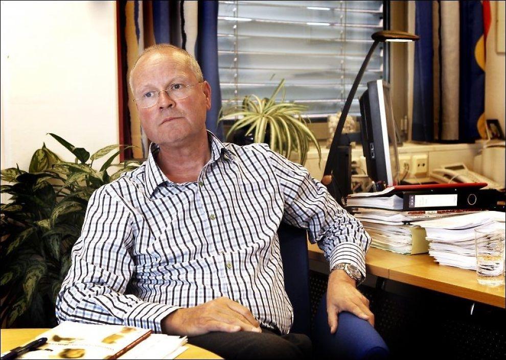 - ALVORLIGE FØLGER: NPE-direktør Rolf Gunnar Jørstad sier feilbehandling og for sen kreftdiagnose kan bli alvorlig for pasientene det gjelder. Foto: Nils Bjåland, VG