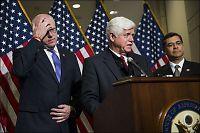 Budsjettforhandlingene utsatt - USA stadig nærmere finansstupet
