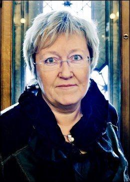 SKEPTISK: Høyres Elisabeth Aspaker. Foto: KRISTER SØRBØ/VG