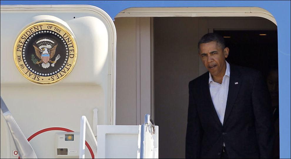 OMSTRIDT VALG: USAs president er ventet å nominere republikaneren Chuck Hagel som ny forsvarsminister. Ifølge andre republikanere er Hagel for kritisk til Israel til å være landets forsvarsminister. FOTO: ANN HEISENFELT / AFP / NTB SCANPIX