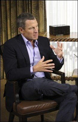 Lance Armstrong innrømmet bruk av doping i intervjuet med Oprah Winfrey. Foto: Reuters