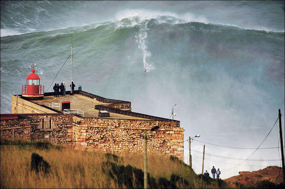 Verdens høyeste bølge