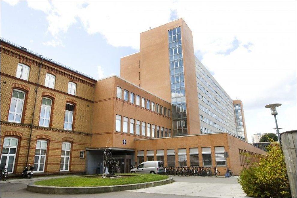 - GJORDE FEIL: Politiet har siktet Ullevål sykehus for brudd på helsepersonelloven og internkontrollforskriften. Foto: JAN PETTER LYNAU/VG