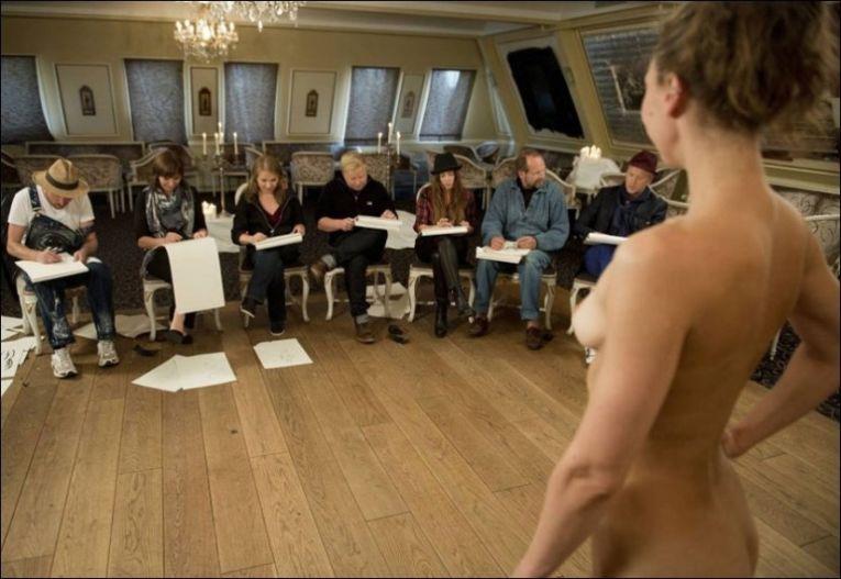 vibeke skofterud nude norske nakenmodell