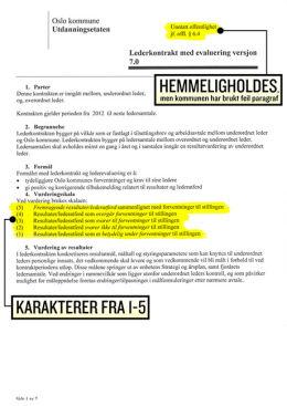 TALLKARAKTERER: Rektorene får karakterer fra 1-5 i evalueringen.
