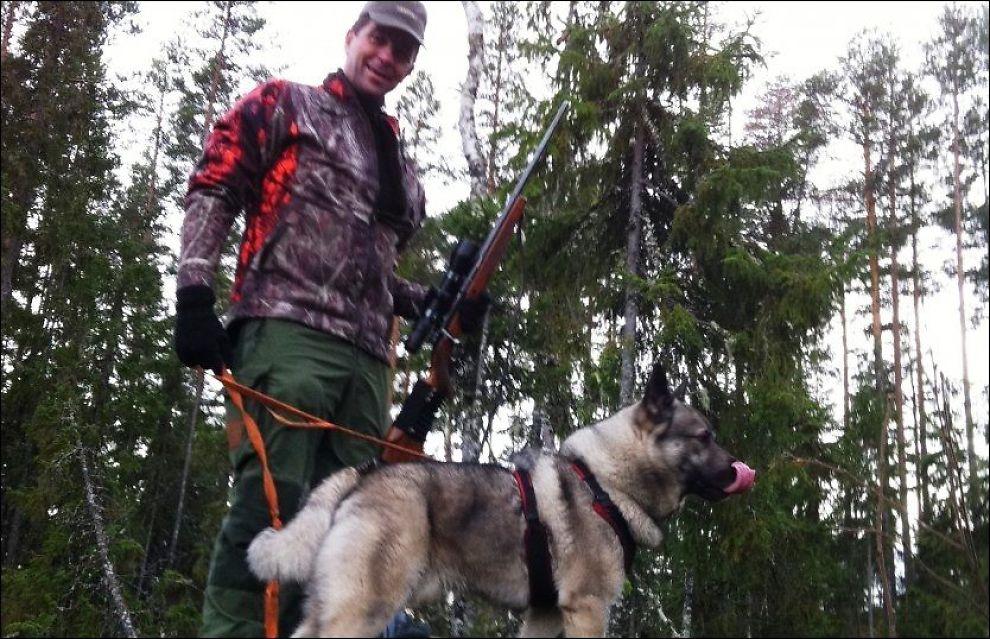 STEMMEJAKT: Gunnar A. Gundersen (H) er en ivrig jeger. Nå tar han et oppgjør med ulveforherligelsen. FOTO: Privat
