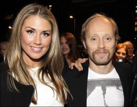 BRUDD: Tone Damli Aaberge og Aksel Hennie har vært kjærester i tre og et halvt år. Nå er det slutt. Foto: TROND SOLBERG