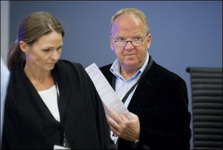 FORKLARTE SEG: Rettspsykiatrene Torgeir Husby og Synne Sørheim holdt fast på sin vurdering av Anders Behring Breivik som utilregnelig. De har, som Arntzen nå, fastholdt at uenigheten med det andre parte rettspsykiatrene ikke var noen krise. Foto: Helge Mikalsen
