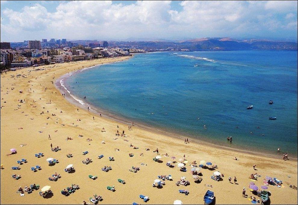 15 Topp Strender på Gran Canaria | Spania24.no