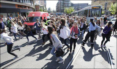 Kaos i Oslo Justin Bieber Justin Bieber Ble Det Kaos