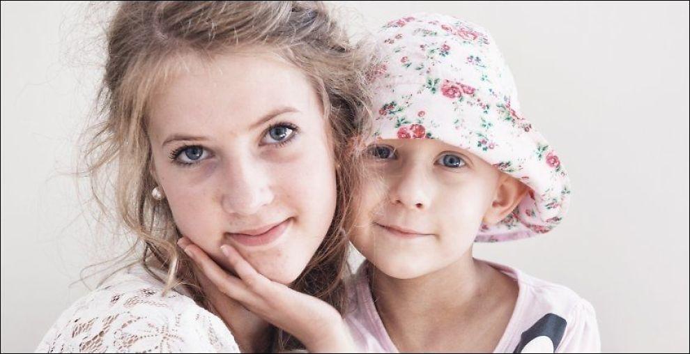 KREFTSYK: Emilia Polbratek rørte hele Norge med bloggen om den kreftsyke lillesøsteren Natalia (5). Søsteren døde i januar. Foto: KRISTIAN HELGESEN