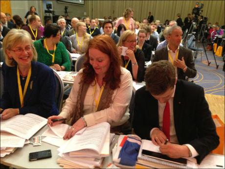 STEMTE FOR: Partiledelsen i KrF stemte for å fjerne trosplikten i partiet. Foto: Nilas Johnsen