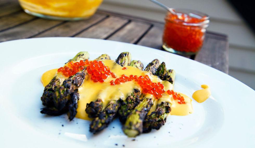 Tre supre måter å tilberede asparges