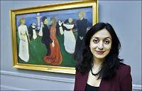 Hadia Tajik lover penger til Munch-museet