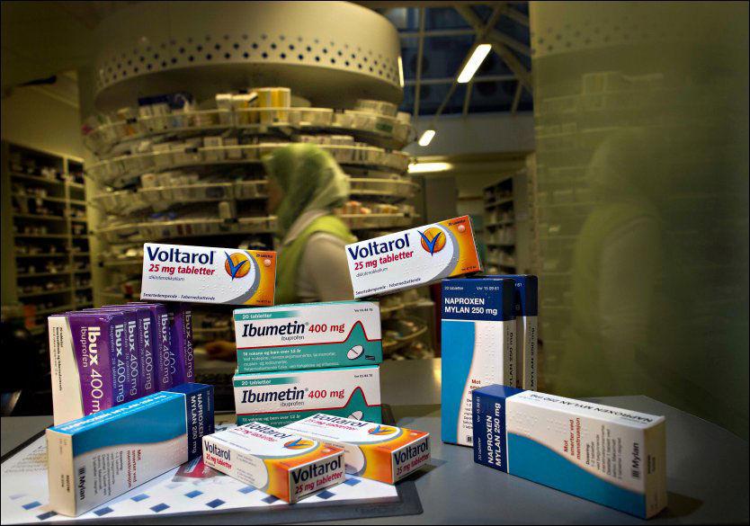 diclofenac og ibuprofen