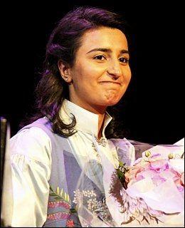 PRISET: Bushra Ishaq fikk tildelt Fritt Ord Pris i 2010. Foto: FOTO: KNUT ERIK KNUDSEN
