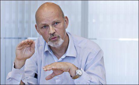DIREKTØR: Henrik Stenwig er direktør for helse og kvalitet i Fiskeri- og havbruksnæringens landsforening (FHL). Foto: ROGER NEUMANN/VG