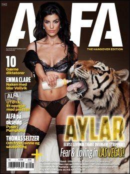VILLE LEGALISERE: Mannebladet Alfa laget en stor reportasje om Aylar Lie da hun dro til poker-VM i Las Vegas. Som Betsson-spiller ville hun legalisere poker, men det vil hun ikke snakke om i dag. Foto: Alfa