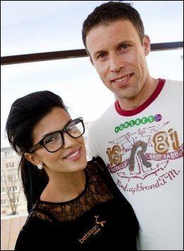 AMBASSADØRER: Aylar Lie var ambassadør for Betsson og Ronny Johnsen representerte Unibet under poker-NM i Riga i 2010. Foto: Robert S. Eik