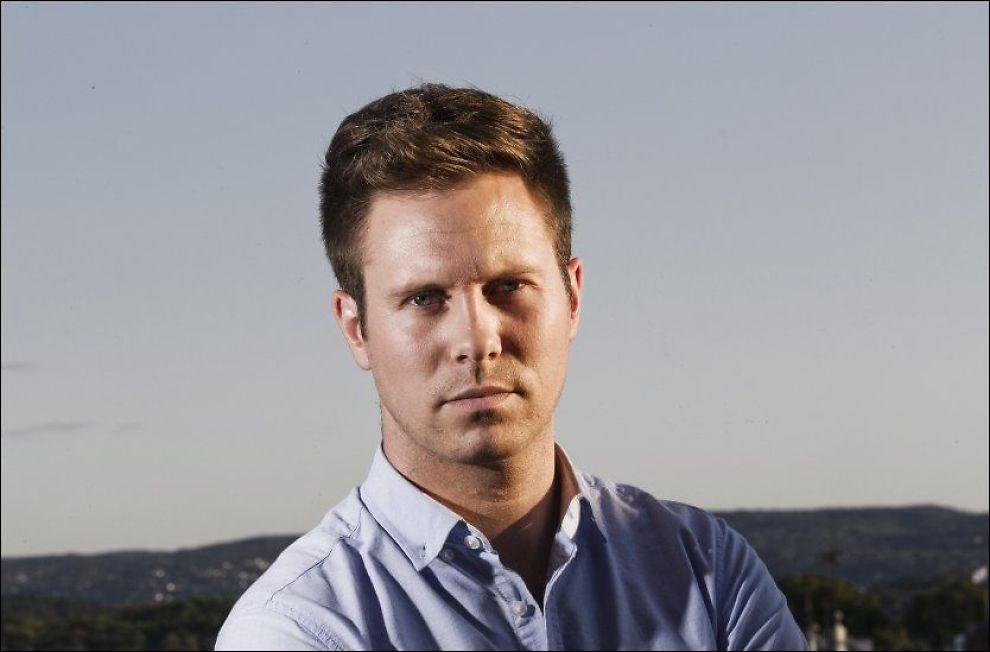 REAGERER KRAFTIG: AUF-leder Eskil Pedersen mener Fritt Ords pengestøtte til Fjordmanns bok er forkastelig. Foto: Frode Hansen