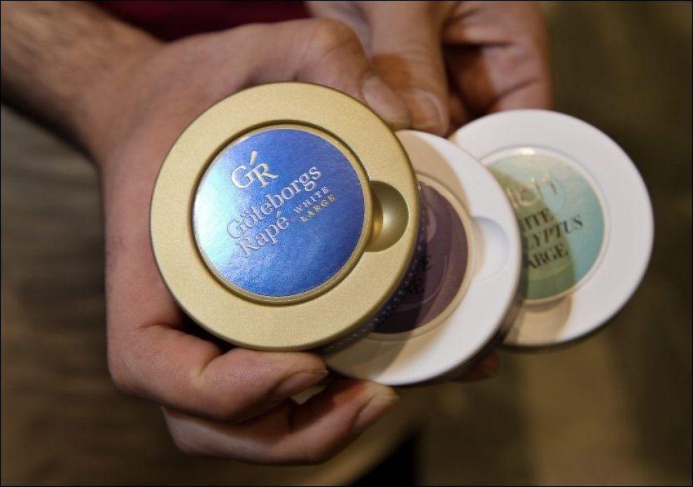 VAR I FARE: EUs helseministre vedtok fredag et nytt tobakksdirektiv. Det foreslåtte forbudet om smaktilsatt snus ble ikke vedtatt. FOTO: ESPEN BRAATA