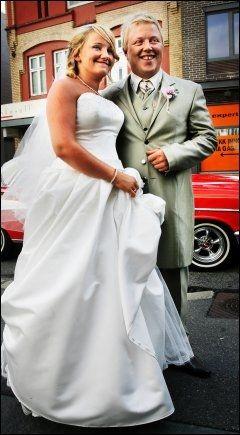 2006: Kurt Nilsen og Kristin Halvorsen i Åsane kirke i Bergen sommeren for syv år siden. Foto: BJØRN DJUPVIK