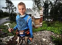 Kristoffer (11) søkte ikke om byggetillatelse - må rive trehytte
