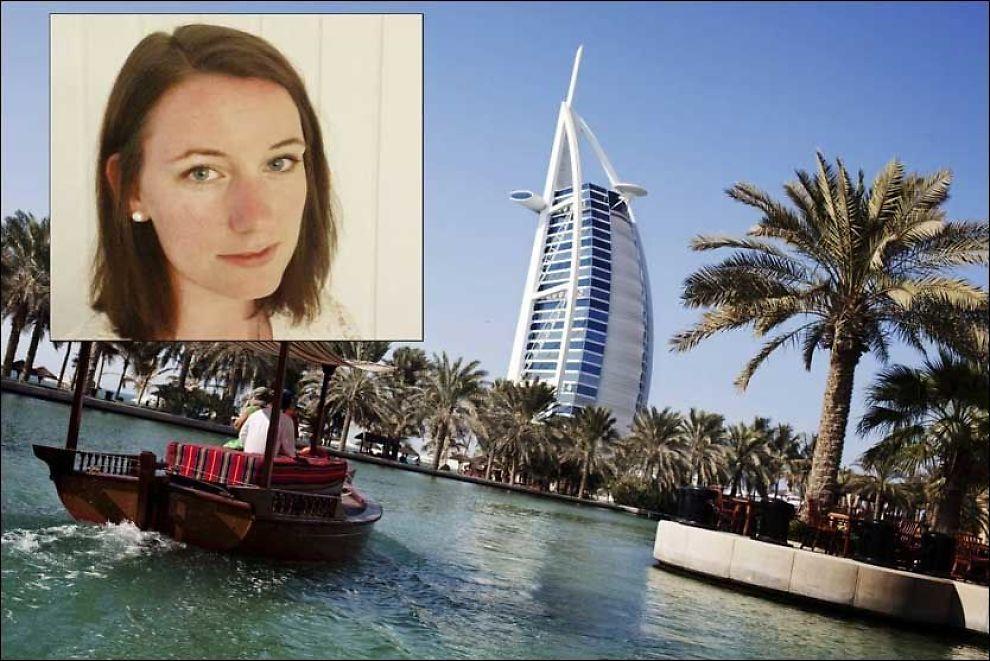 FENGSLET: Marte Deborah Dalelv (24) er dømt til fengsel i Dubai etter å ha anmeldt en kollega for voldtekt. Foto: ANDREA GJEST VANG / VG / PRIVAT