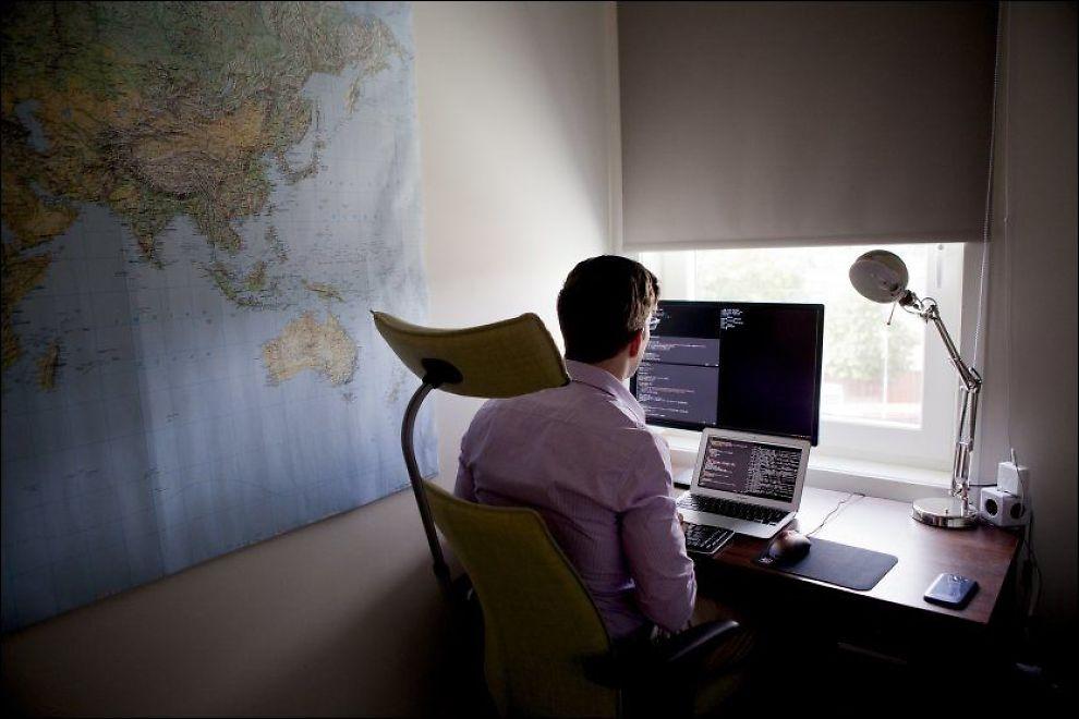 HACKET HACKEREN: IT-konsulenten Einar Otto Stangvik er mannen som sporet opp gjerningsmannen - em bystyrerepresentant fra Høyre. Foto: JAVAD M. PARSA/VG