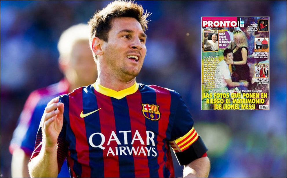 La Pulga Las Vegas >> Hevder Messi-bilder er falske - Spansk fotball - VG
