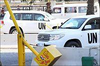Syria: Våpeninspektørene tar pause av sikkerhetshensyn