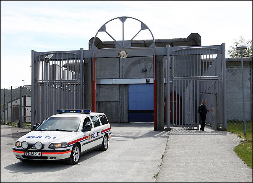ÅPNER DØREN: Høyre og Michael Tetzchner vil slippe private aktører inn i norske fengsler. Her fra Halden fengsel. FOTO: HALLGEIR VÅGENES/VG