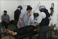 FN-inspektører gjenopptar undersøkelser i Syria