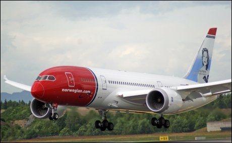 TIL FLORIDA: Norwegian setter opp den nye Dreamlineren sin til Florida og Fort Lauderdale. Første fly letter 30. november. Foto: Jan Ovind