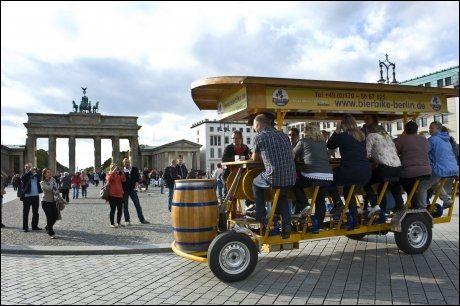 BERLIN: SAS forlenger sin populære sommerrute til Tysklands hovedstad utover høsten og vinteren. Foto: Thomas Grabka