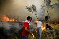 Skogbrannene i Portugal har krevd fem liv
