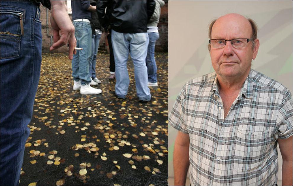 UNGDOMSKJENNER: Njål Petter Svensson har jobbet opp mot ungdom i risikosonen i flere tiår. I dag jobber han i NAV. Svensson mener ungdom får for lite oppfølging av hjelpeapparatet. Foto: NTB scanpix/NAV