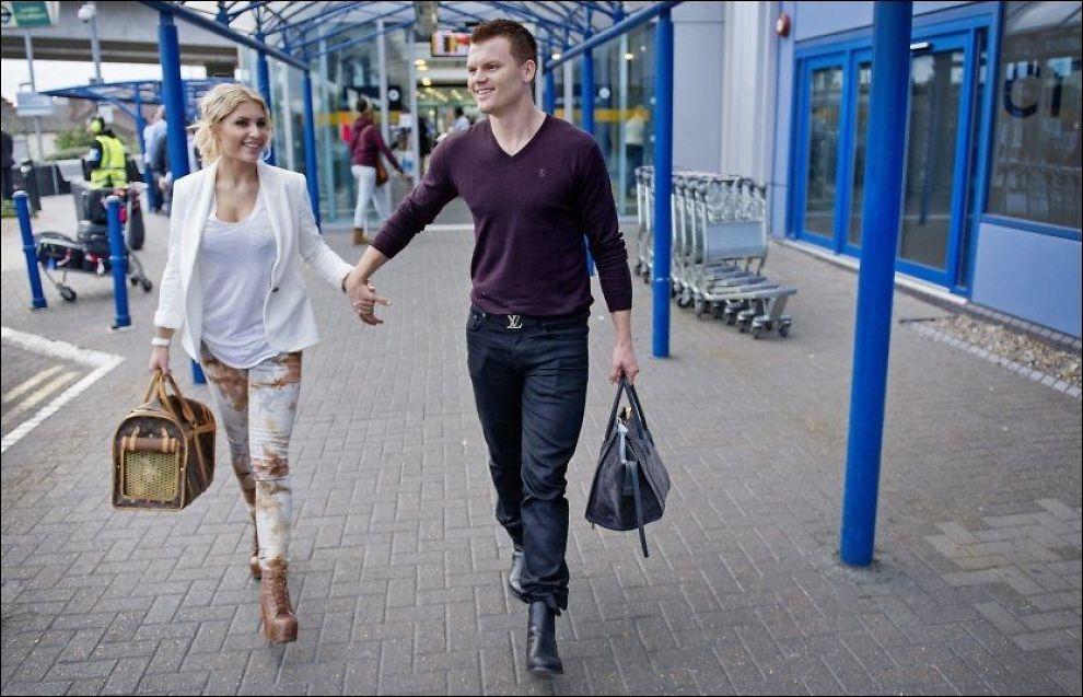 BETSSON-BRYLLUP: John Arne Riise og hans kommende kone Louise Angelica Markussen har solgt neste sommers bryllup til spillselskapet Betsson hvor han er godt betalt poker-ambassadør. Foto: Eivind Griffith Brænde