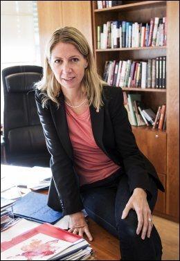 ADVARER: Statssekretær Mina Gerhardsen. Foto: Terje Bringedal