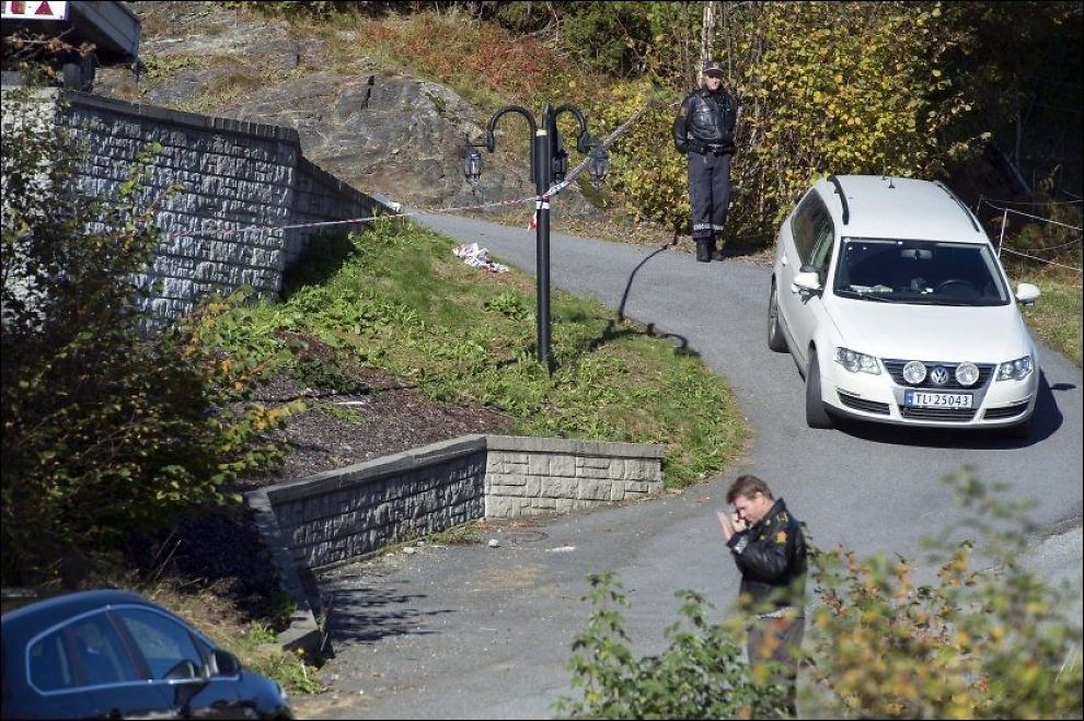 DREPT: Den tre år gamle gutten ble funnet drept utenfor eneboligen på Sagvåg. Foto: ESPEN BRAATA