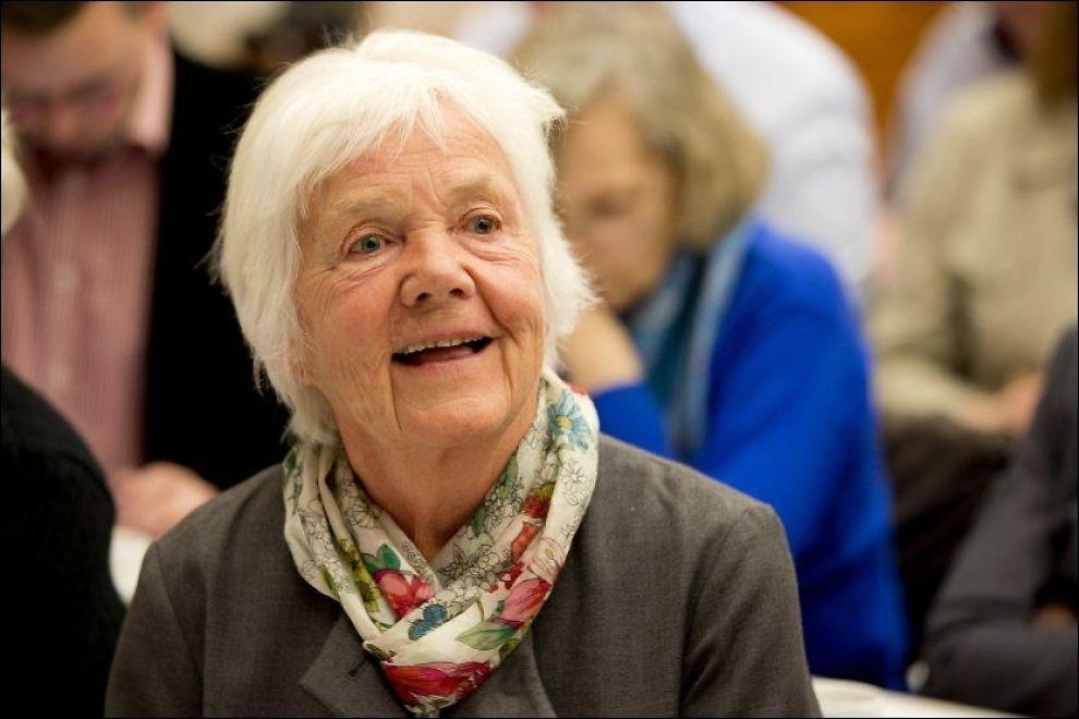 FORTSATT AKTIV: Astrid Nøklebye Heiberg ble sto på 10. plass for Oslo Høyre foran årets stortingsvalg. FOTO: HÅKON MOSVOLD LARSEN/NTB SCANPIX
