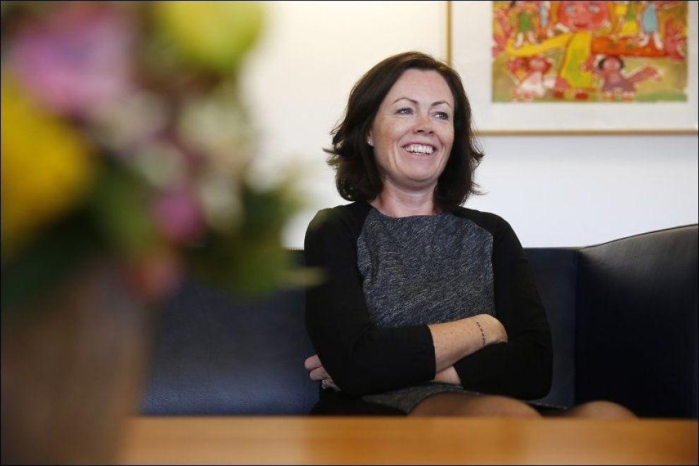 VIL LØFTE FAMILIE-VERNET: Barne- og inkluderingsminister Solveig Horne mener vern om familen har vært et underprioritert område. Foto: Trond Solberg