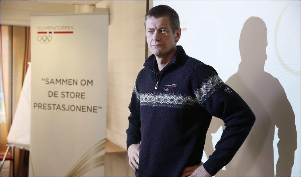OPTIMIST: Toppidrettssjef Tore Øvrebø presenterte onsdag hvilke mål Norge skal forsøke å innfri i Sotsji. Foto: Trond Solberg, VG