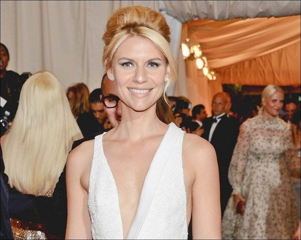 POPULÆR: Claire Danes spiller hovedrollen i TV-serien «Homeland». I desember skal hun også lede Nobelkonserten. Foto: Getty Images/ All Over Press