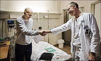 Bøhn takker legene som har reddet livet hans