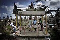 Denne filippinske byen ble truffet først av tyfonen
