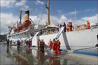 Tyfonen: Skip på vei med 200 tonn nødhjelpsutstyr